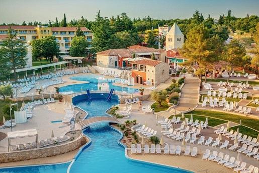 SOL GARDEN ISTRA HOTEL widok basen chorwacja opinie dzieci wakacje