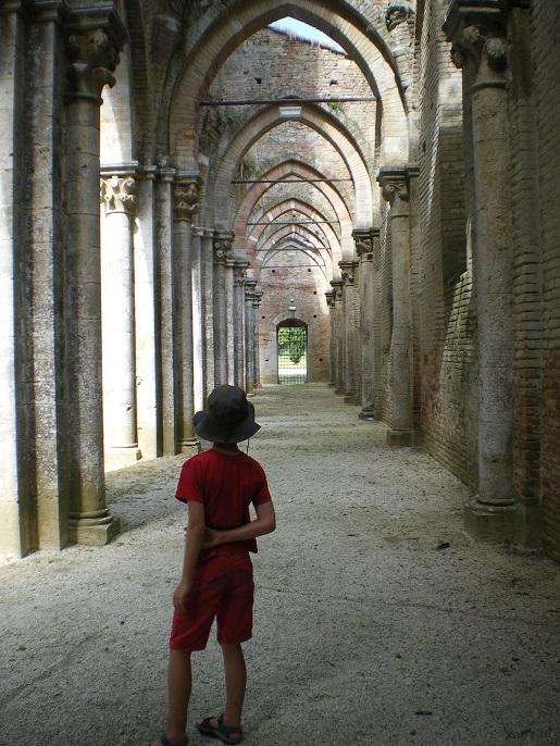 San Galgano Toskania atrakcje - zwiedzanie z dzieckiem opinie trasa samochodem