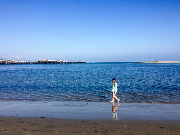 Santa Barbara Kalifornia z dzieckiem plaże