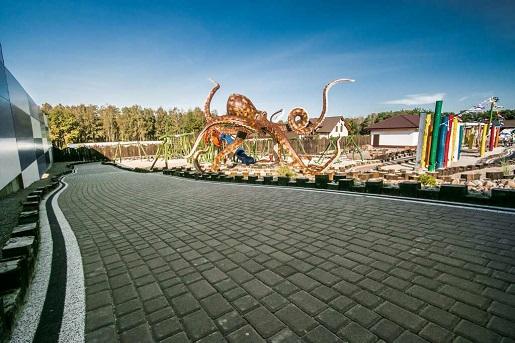 Sea Park Sarbsk plac zabaw atrakcje rodzinne opinie cennik