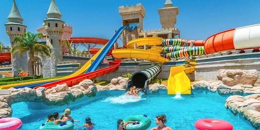 Serenicity Fun City Reosrt Egipt baseny atrakcje dla dzieci