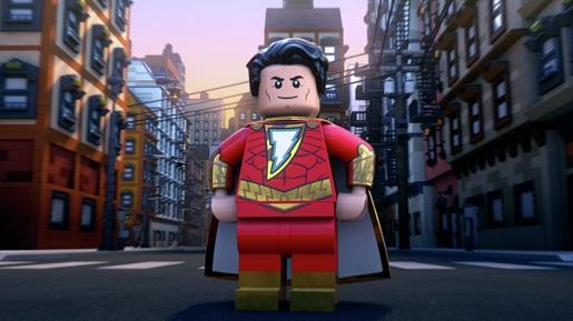 Shazam bajka online dla dzieci LEGO film