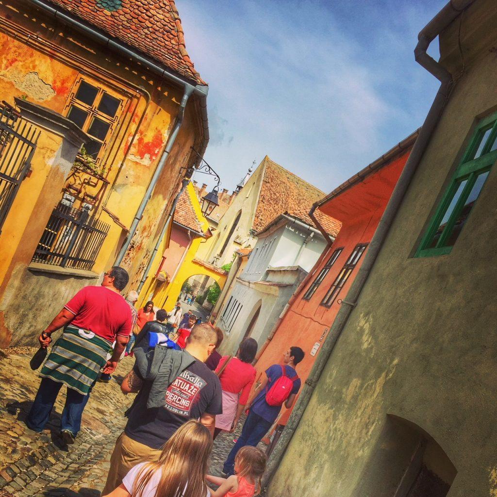 Sighisoara Rumunia atrakcje opinie zwiedzanie z dzieckiem
