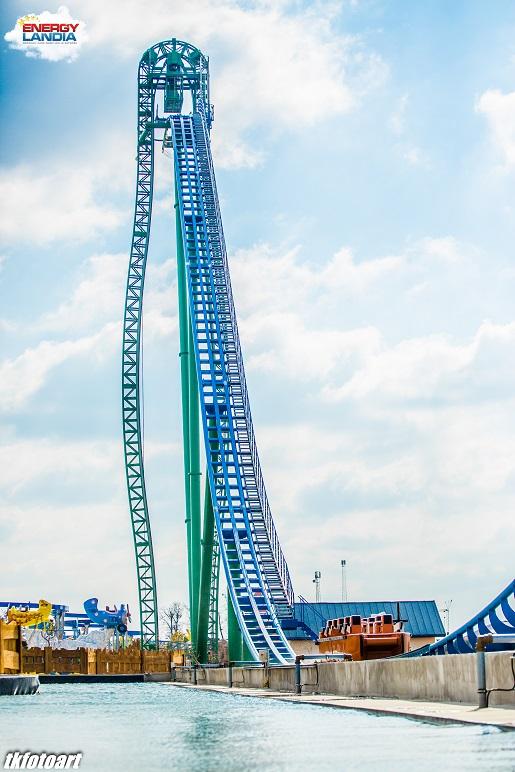 Speed water coaster energylandia największa wodna kolejka górska opinie 2