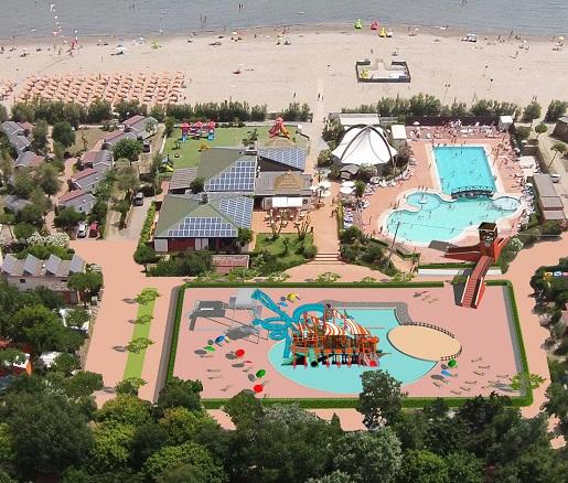 Spiaggia e Mare-najlepsze kempingi z atrakcjami dla dzieci Włochy