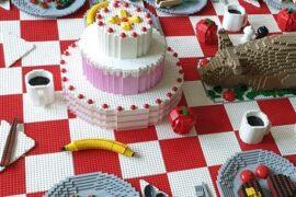 Stół najwieksza wystawa klockow lego gliwice atrakcje dla dzieci