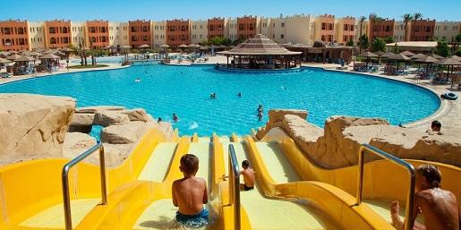 Egipt hotel aquapark dla dzieci fajny opinie