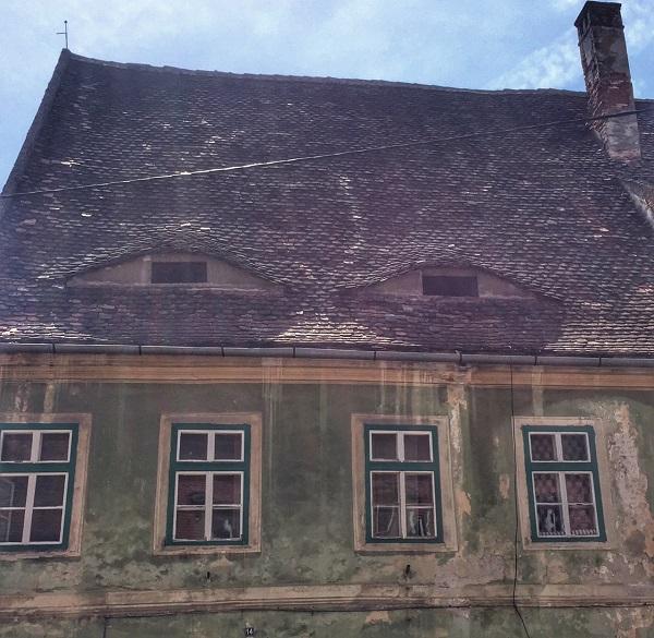 Sybin - domy mają oczy- zwiedzanie