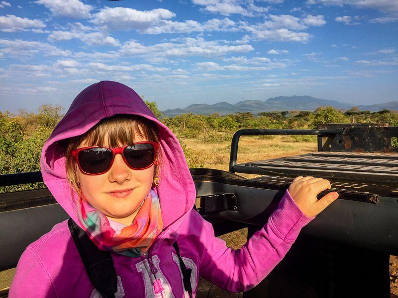 Tedy i owędy - Kenia z dzieckiem