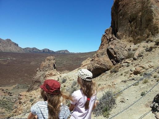 Teide z dziećmi zwiedzanie atrakcje