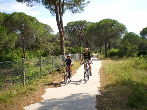 Toskania rowerami Parco Naturale Della Maremma