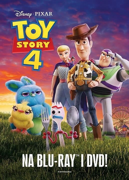 Toy Story 4 DVD film bajka 2019
