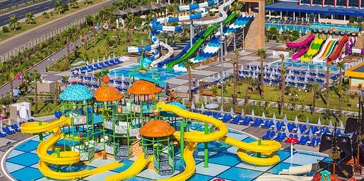 najlepsze hotele z basenami w Turcji atrakcje dla dzieci opinie