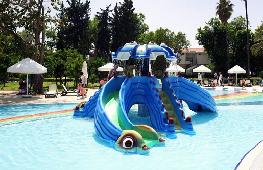 najlepsze rodzinne hotele w Turcji aquapark basen atrakcje opinie