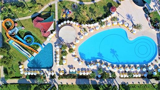 hotel z aquaparkiem Turcja atrakcje dla dzieci opinie