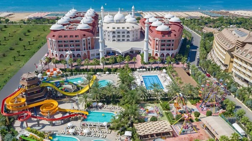 Turcja jaki hotel najlepszy dla dzieci aquapark atrakcje opinie