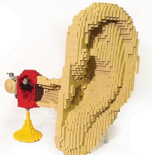 Ucho najwieksza wystawa klocków lego lublin atrakcje opinie