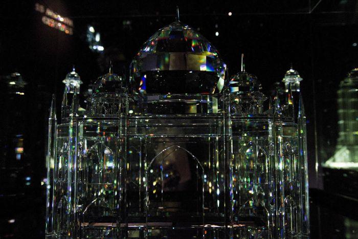 Świat Kryształów Swarovskiego Wattens zdzieckiem