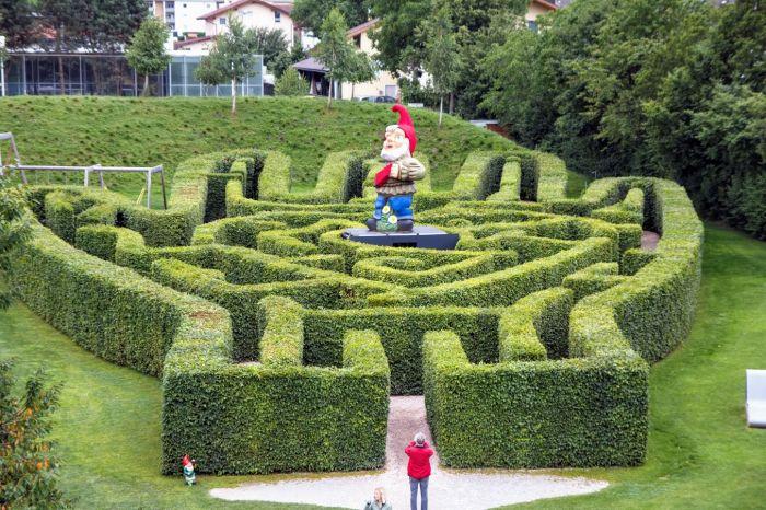 labirynt dla dzieci Wattens atrakcje