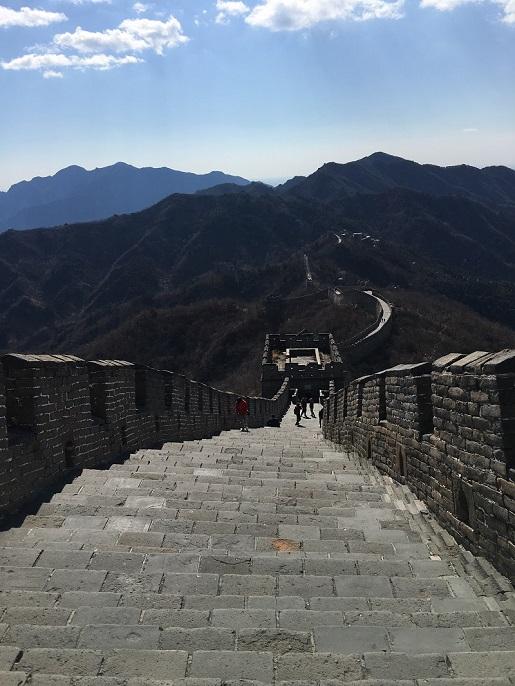 Wielki Mur Chiński - przystanej w locie do Nowej Zelandii