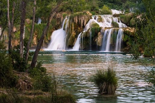 Wodospady Krka, blisko kempingu Zaton, Chorwacja opinie