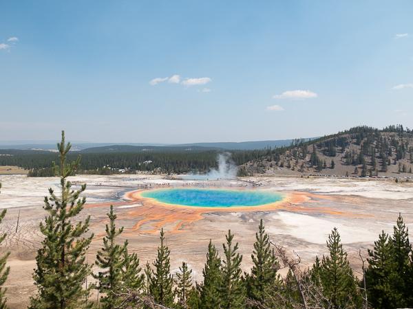 Yellowstone z dzieckiem zwiedzanie opinie atrakcje Stany