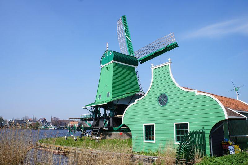 ZAANSE SCHANSE Wiatraki Holandia