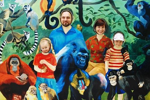 Zoo Budapeszt Węgry z dzieckiem
