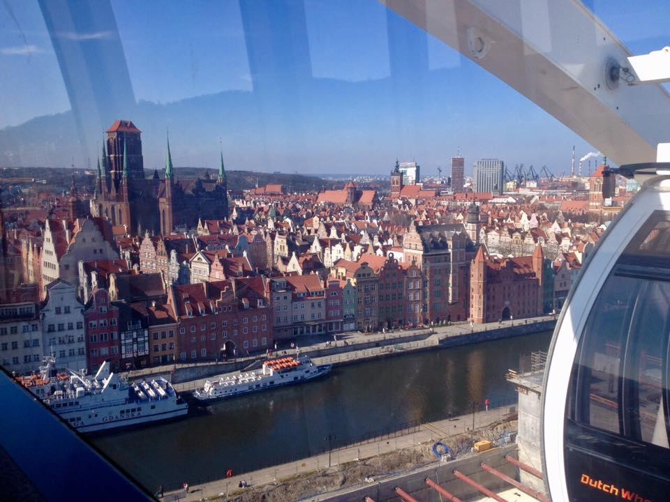 Koło widokowe Gdańsk atrakcje