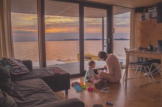 apartamenty na wodzie Mielno nad morzem jezioro Jamno opinie atrakcje