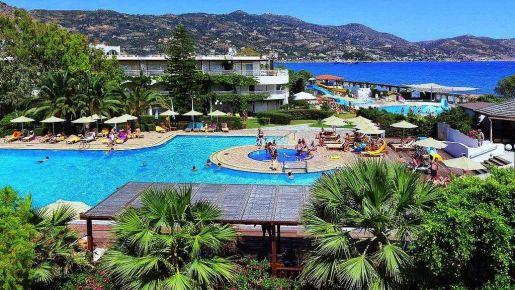 Kreta wakacje z dziećmi 2018 Apollonia Beach Hotel Kreta opinie Neckermann