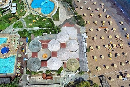 apollonia-hotel grecja opinie wakacje z dziecmi widok z gory