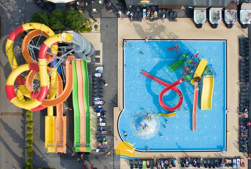 aquapark Łazy domki z basenami dla dzieci park wodny nad morzem