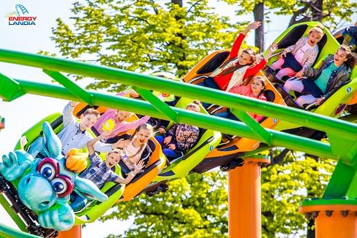 atrakcje Dzień Dziecka Energylandia park rozrywki