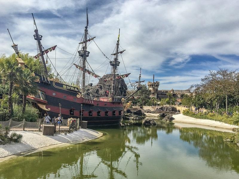 atrakcje Park Rozrywki Paryż Disneyland opinie