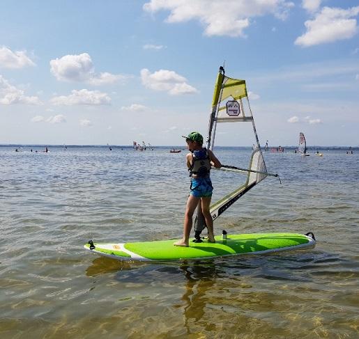 atrakcje dla dzieci Władysławowo wakacyjna nauka windsurfingu