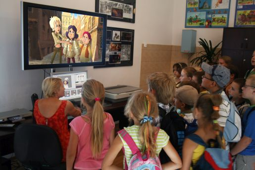atrakcje dla dzieci śląsk gdzie na weekend z dzieckiem śląsk studio filmow rysunkowych śląskie atrakcje dla dzieci