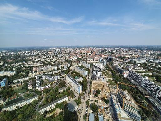 atrakcje dla dzieci we Wrocławiu taras widokowy