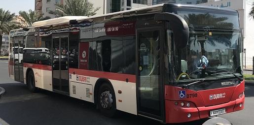 autobusy Dubaj ceny biletów opinie transport publiczny