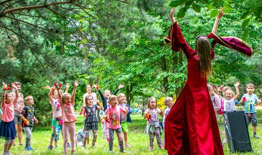 baśniowe sady klemensa warszawa parki rozrywki wstęp bilety