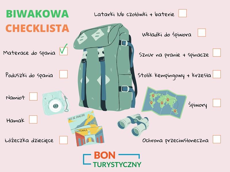 biwakowa checklista bon turystyczny 1