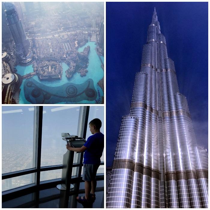 burj khalifa atrakcje dubaj z dziećmi opinie zwiedzanie luty 1