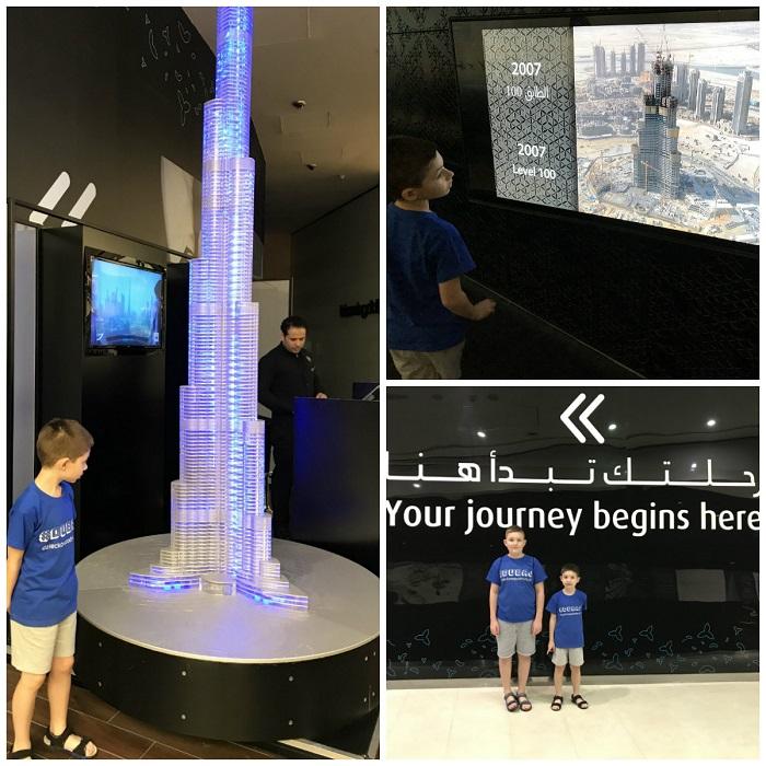 burj khalifa zwiedzanie opinie z dzieckiem bilety taras widokowy