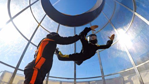 bydgoszcz atrakcje symulator skok spadochron