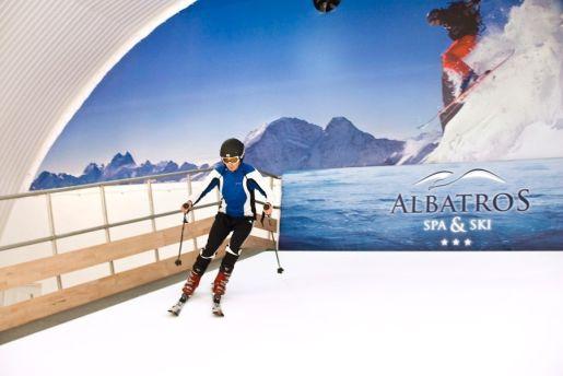 kryty stok narciarski Albatros Jarosławiec opinie atrakcje