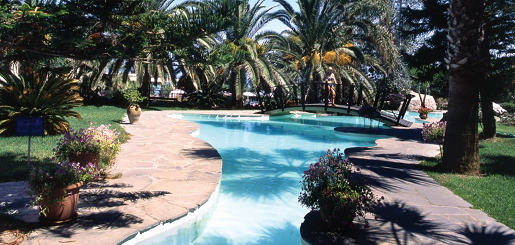 calypso hotel opinie basen grecja rodos basen