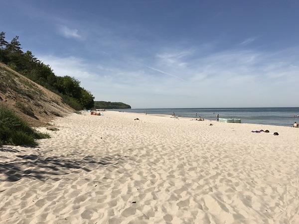 chłapowo plaża opinie wąwóz rudnik chłapowski atrakcje