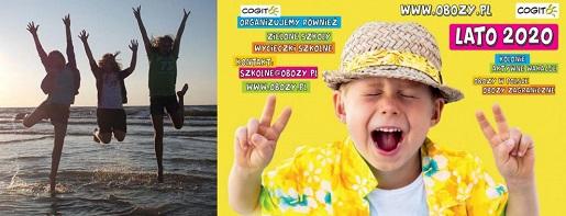 cogito centrum kolonii i obozów wakacje 2021 dla dzieci Obóz youtuberów