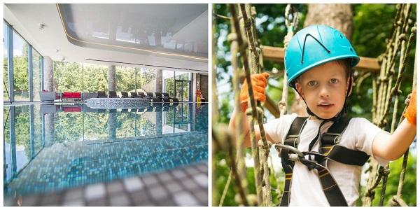 długi weekend majowy bory tucholskie z atrakcjami dla dzieci basenem majówka