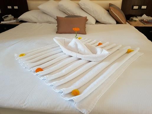dekoracje z ręczników w hotelu zdjęcia opinie jungle aquapark egipt